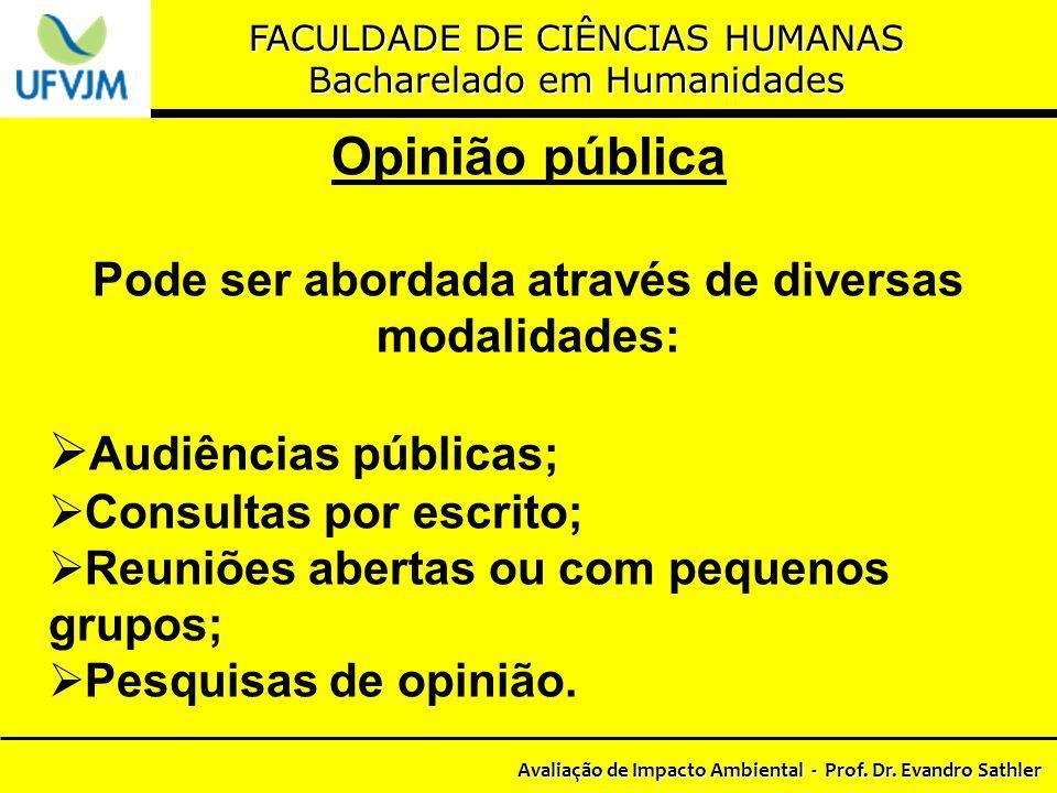 Opinião pública Audiências públicas;