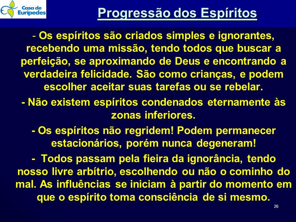 Progressão dos Espíritos
