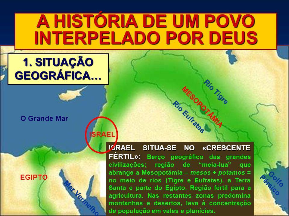 A HISTÓRIA DE UM POVO INTERPELADO POR DEUS