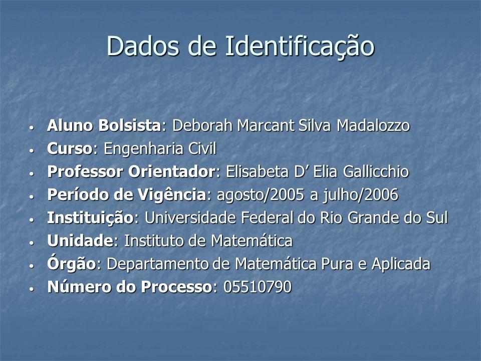 Dados de Identificação