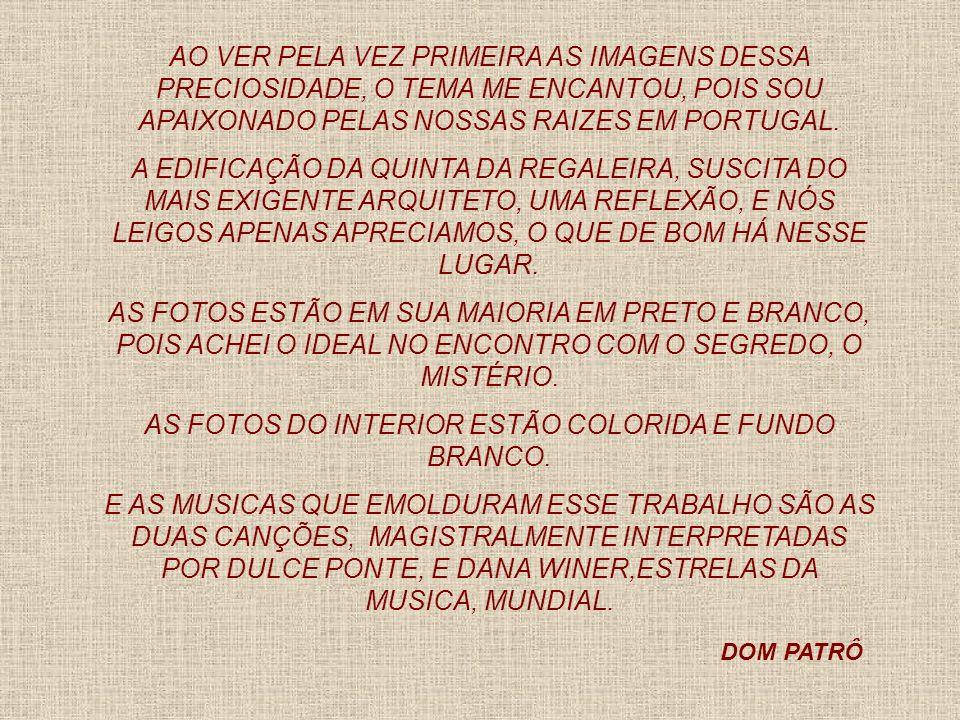 AS FOTOS DO INTERIOR ESTÃO COLORIDA E FUNDO BRANCO.