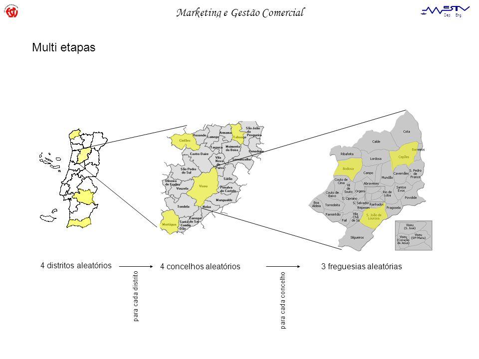 Multi etapas 4 distritos aleatórios 4 concelhos aleatórios