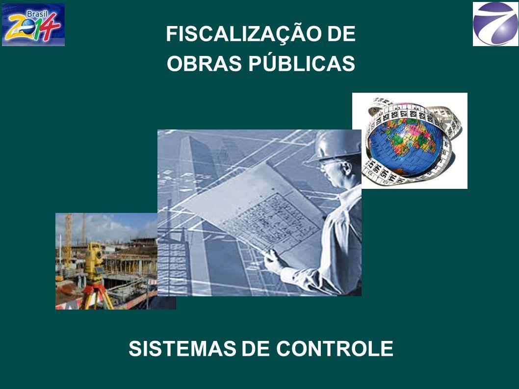 FISCALIZAÇÃO DE OBRAS PÚBLICAS SISTEMAS DE CONTROLE