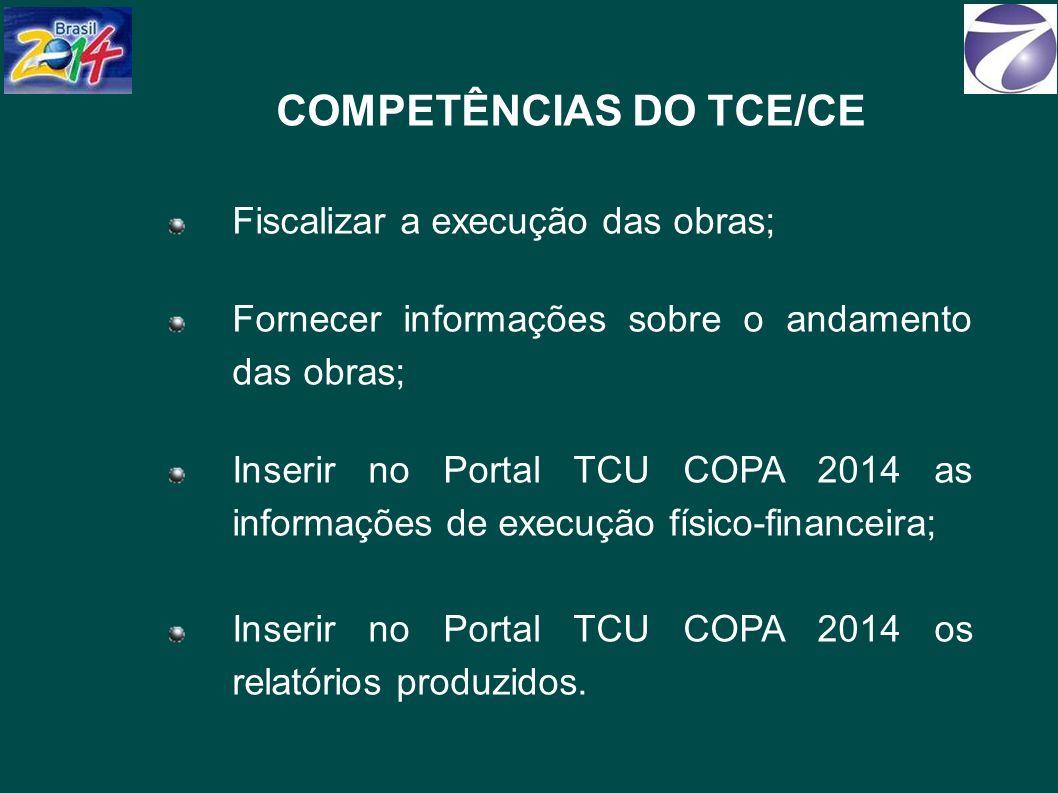 COMPETÊNCIAS DO TCE/CE