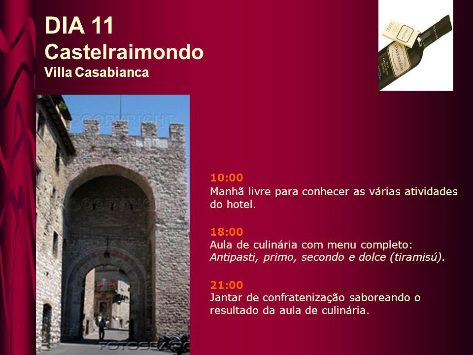 DIA 11 Castelraimondo Villa Casabianca