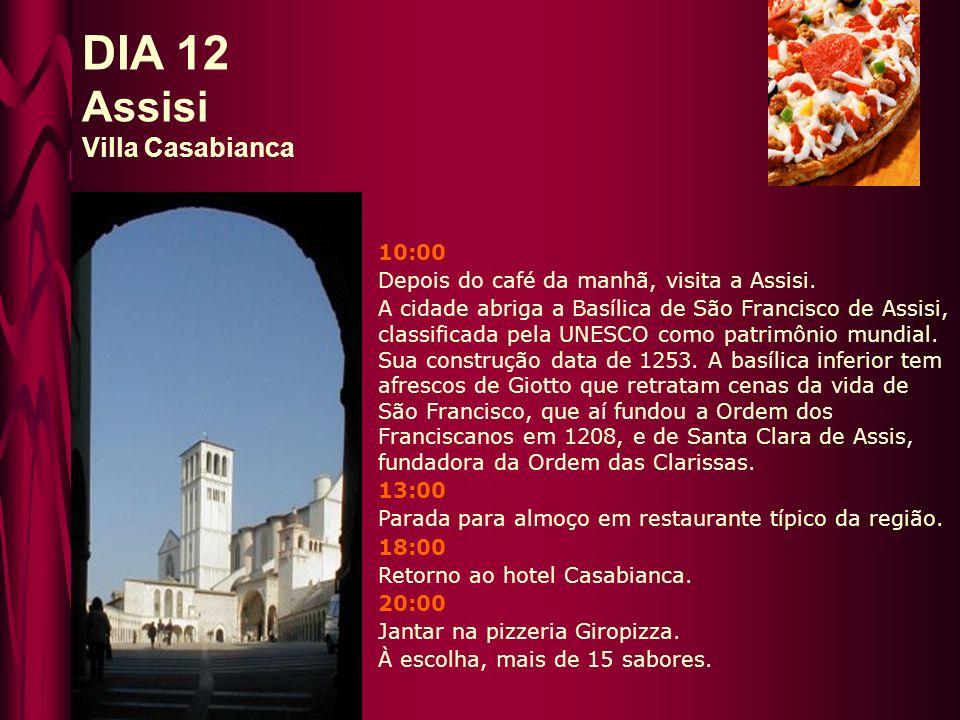 DIA 12 Assisi Villa Casabianca