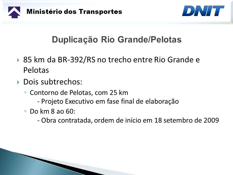 Duplicação Rio Grande/Pelotas