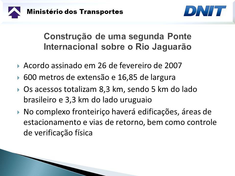 Construção de uma segunda Ponte Internacional sobre o Rio Jaguarão