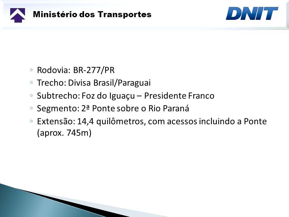 Trecho: Divisa Brasil/Paraguai
