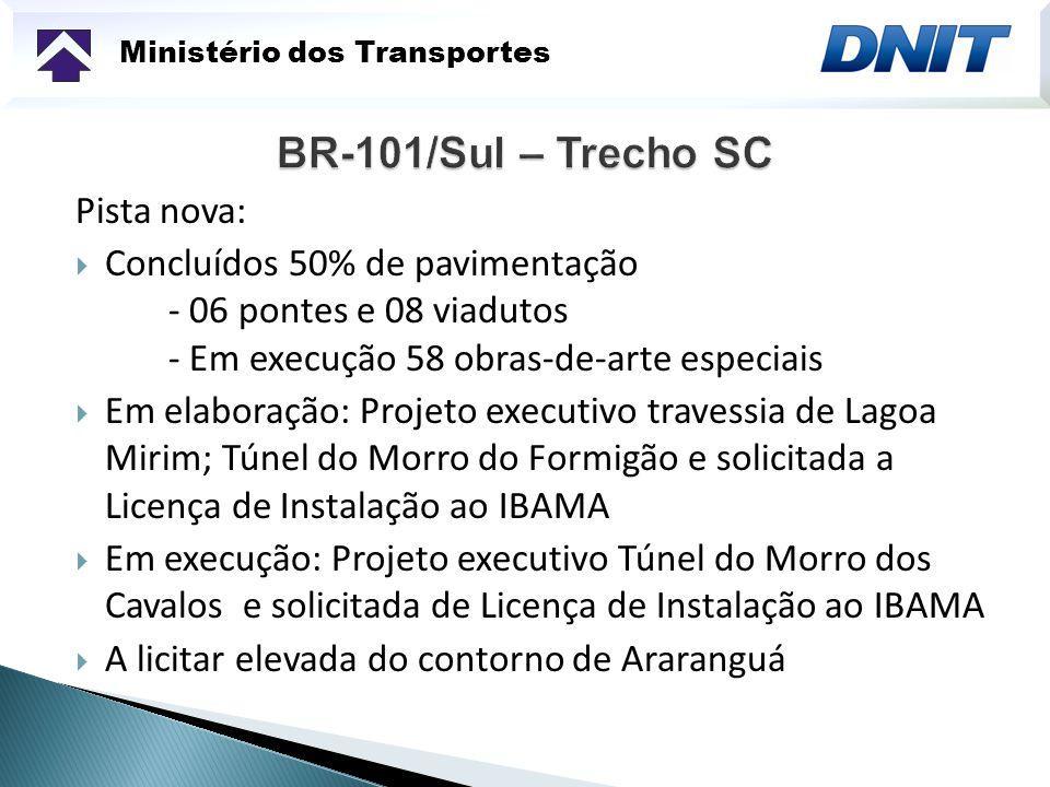 BR-101/Sul – Trecho SC Pista nova: