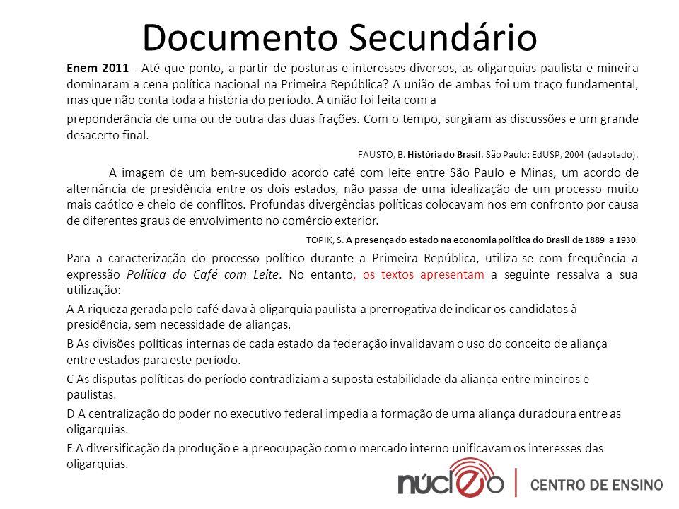Documento Secundário
