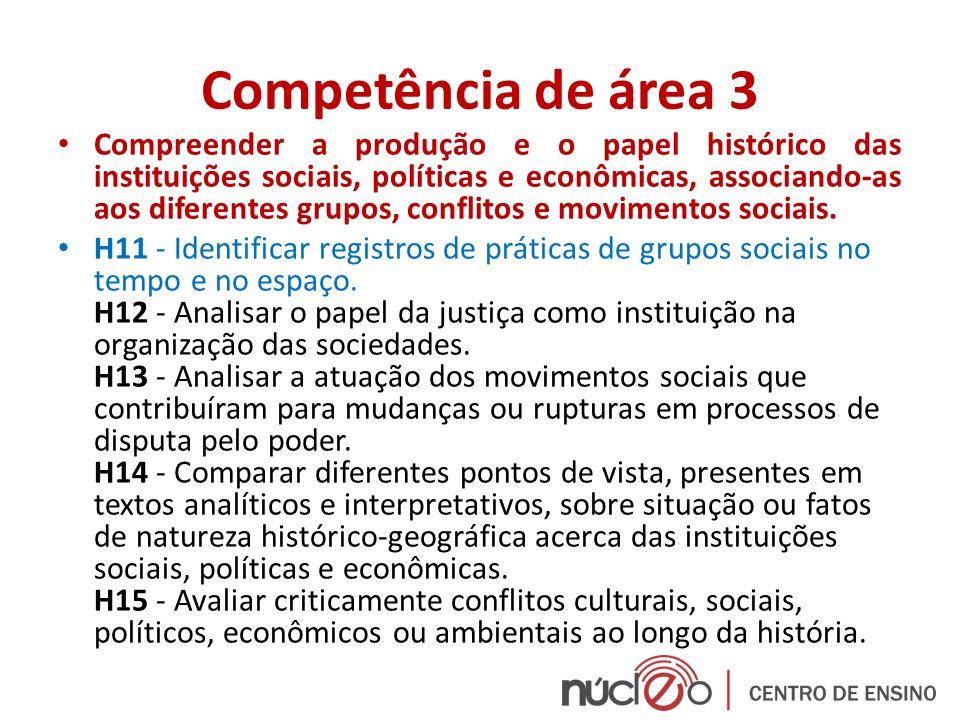 Competência de área 3