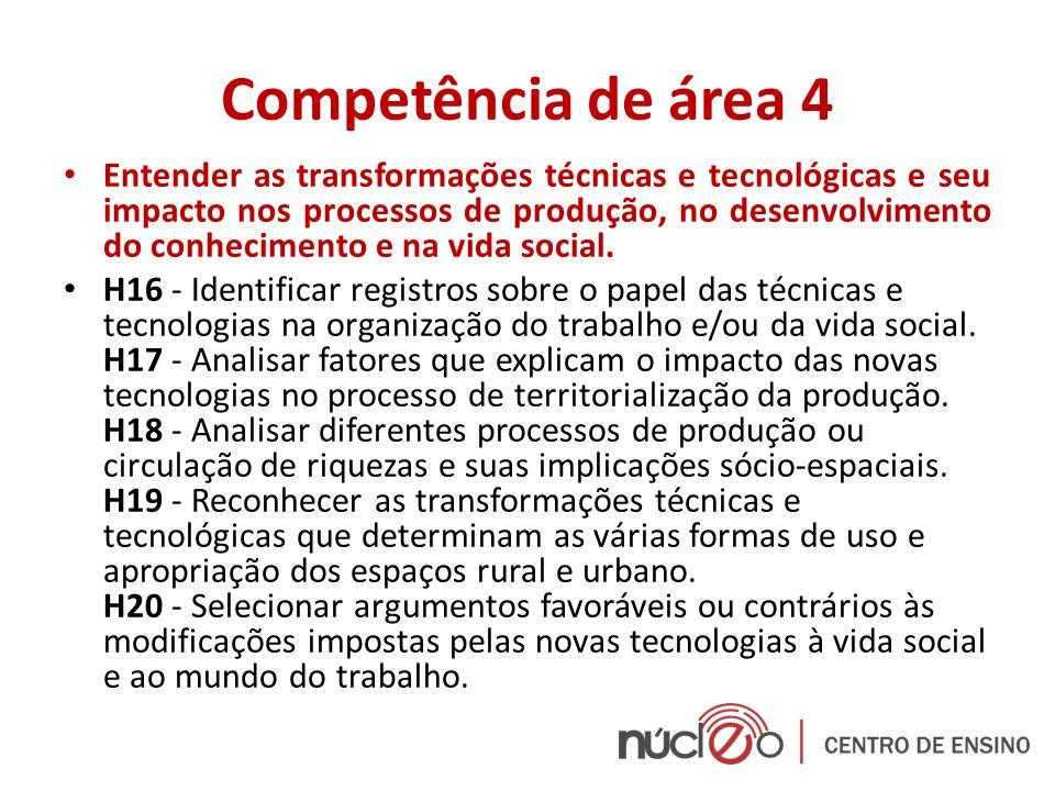 Competência de área 4