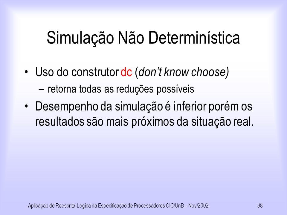 Simulação Não Determinística