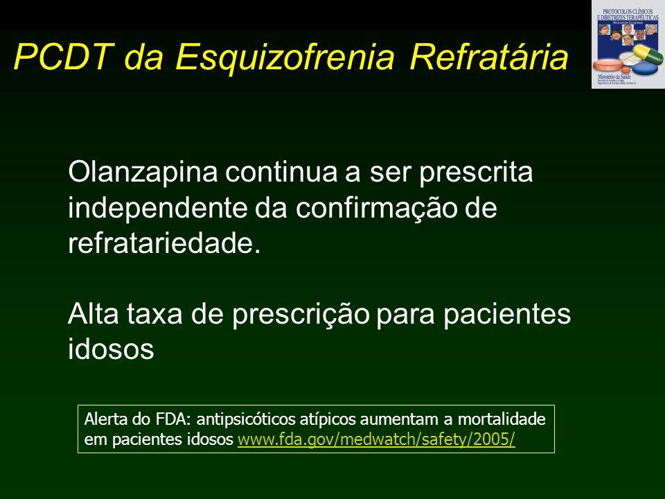 PCDT da Esquizofrenia Refratária