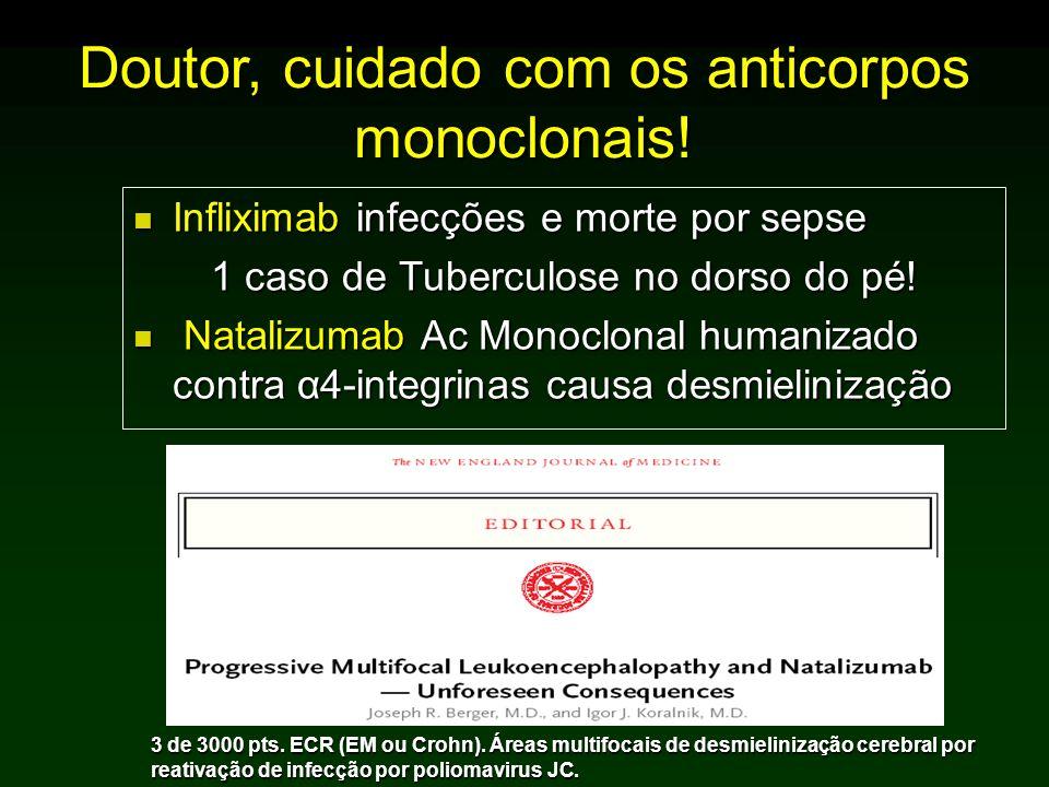 Doutor, cuidado com os anticorpos monoclonais!
