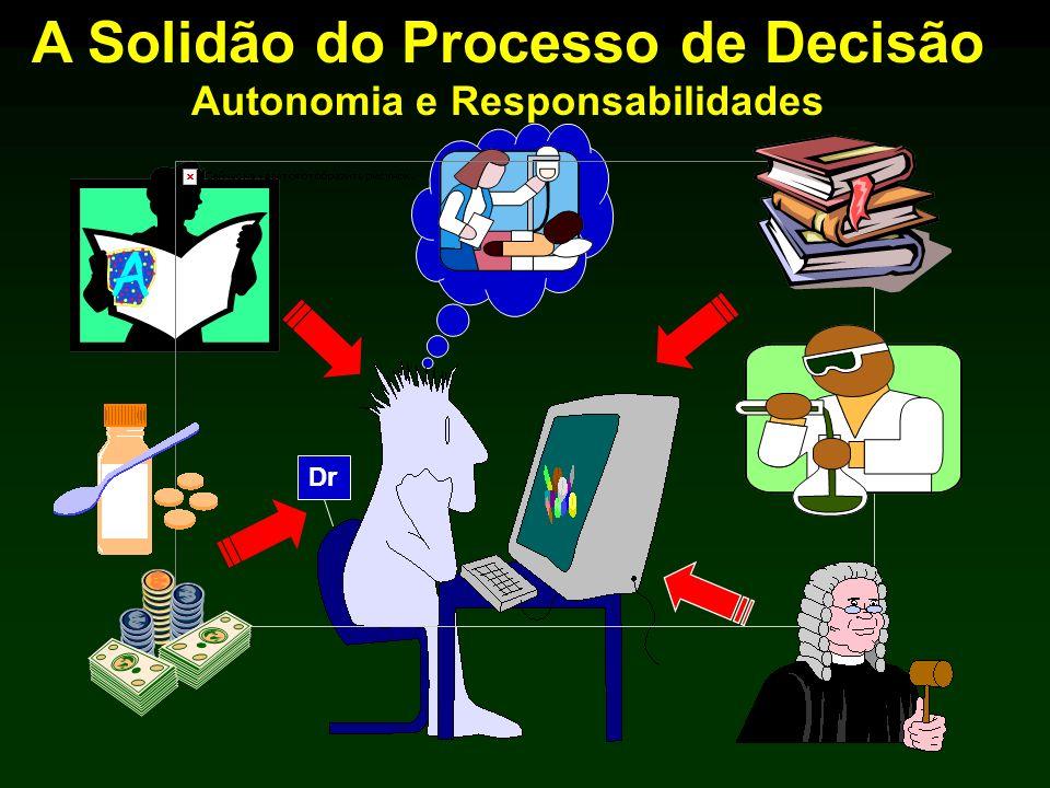 A Solidão do Processo de Decisão Autonomia e Responsabilidades