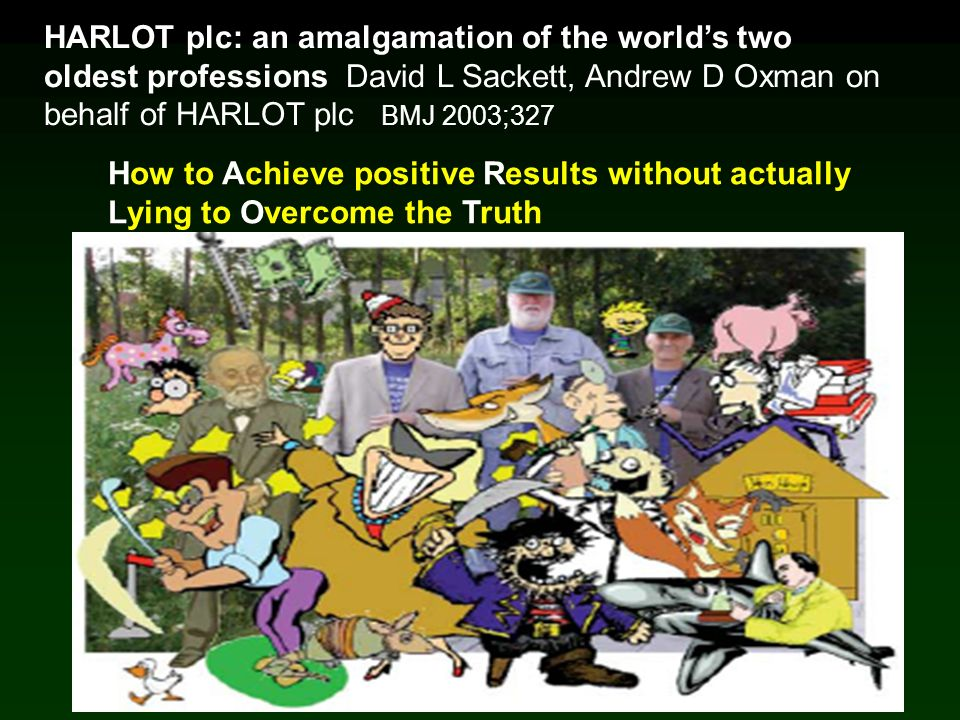 HARLOT plc: an amalgamation of the world's two