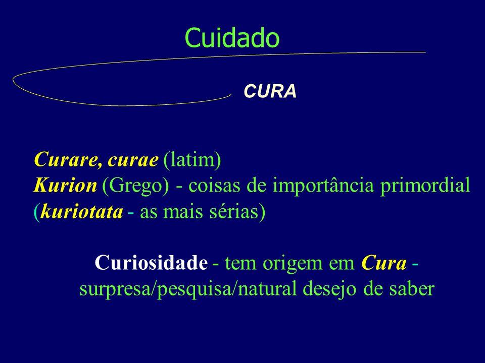 Cuidado Curare, curae (latim)