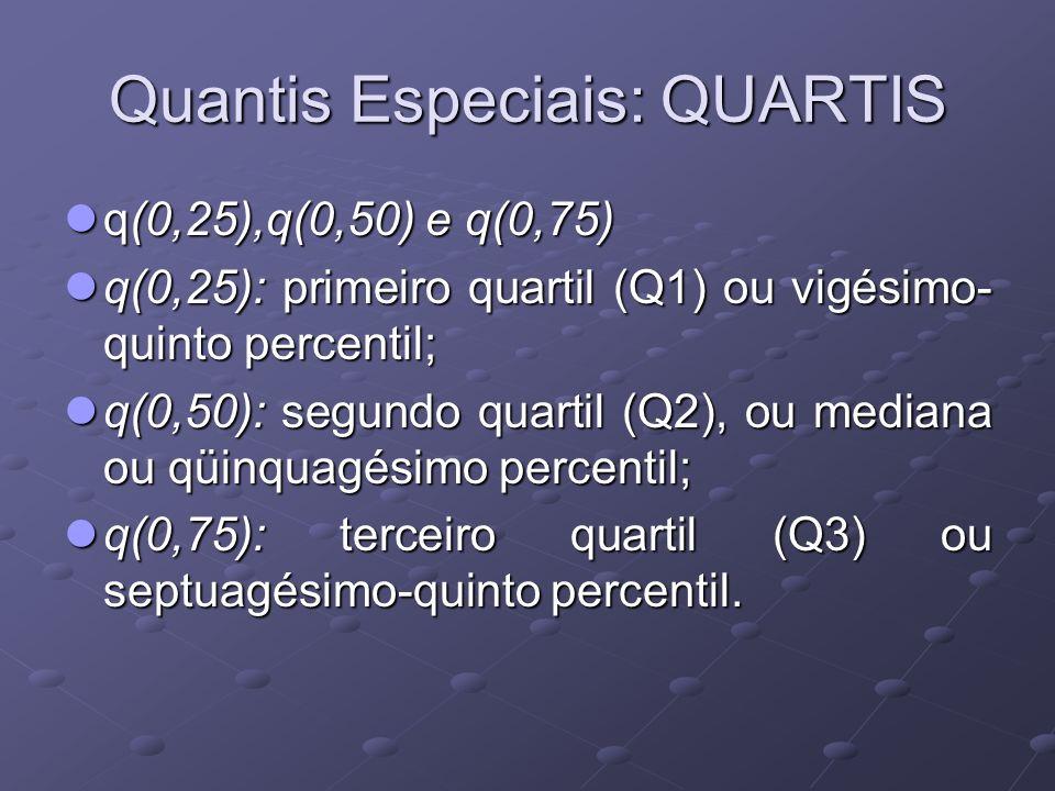 Quantis Especiais: QUARTIS
