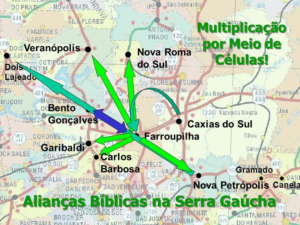 Multiplicação por Meio de Células! Alianças Bíblicas na Serra Gaúcha