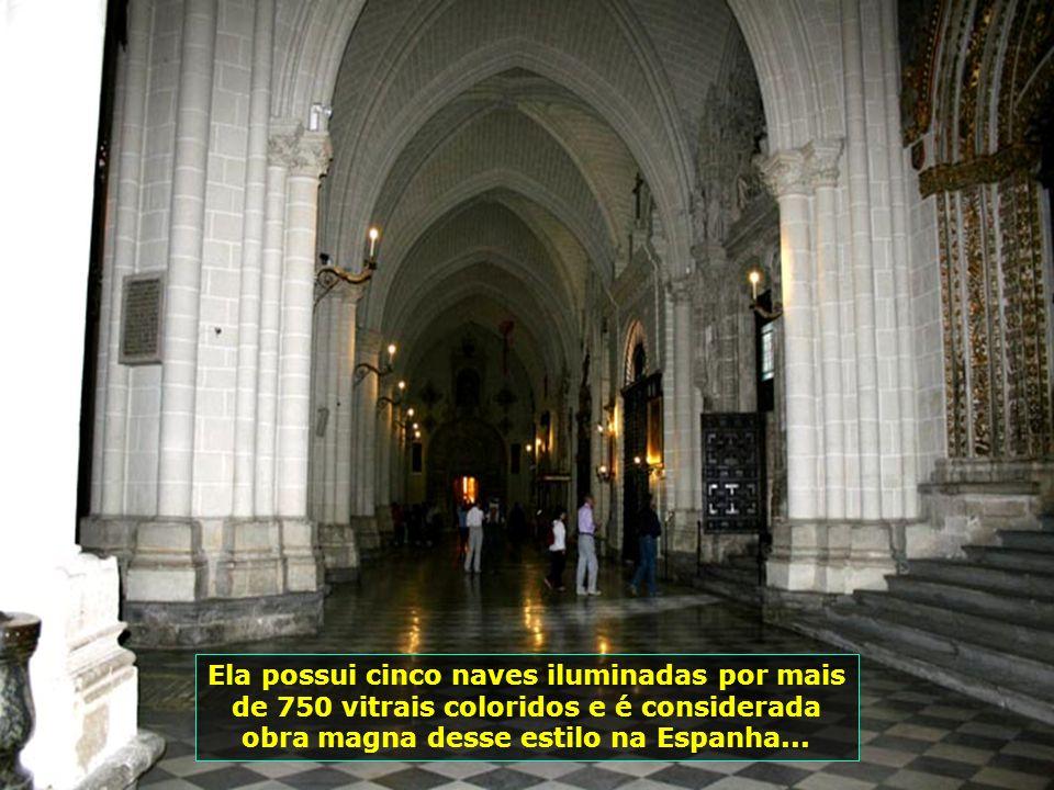 IMG_0912 - ESPANHA - TOLEDO - CATEDRAL INTERIOR-700
