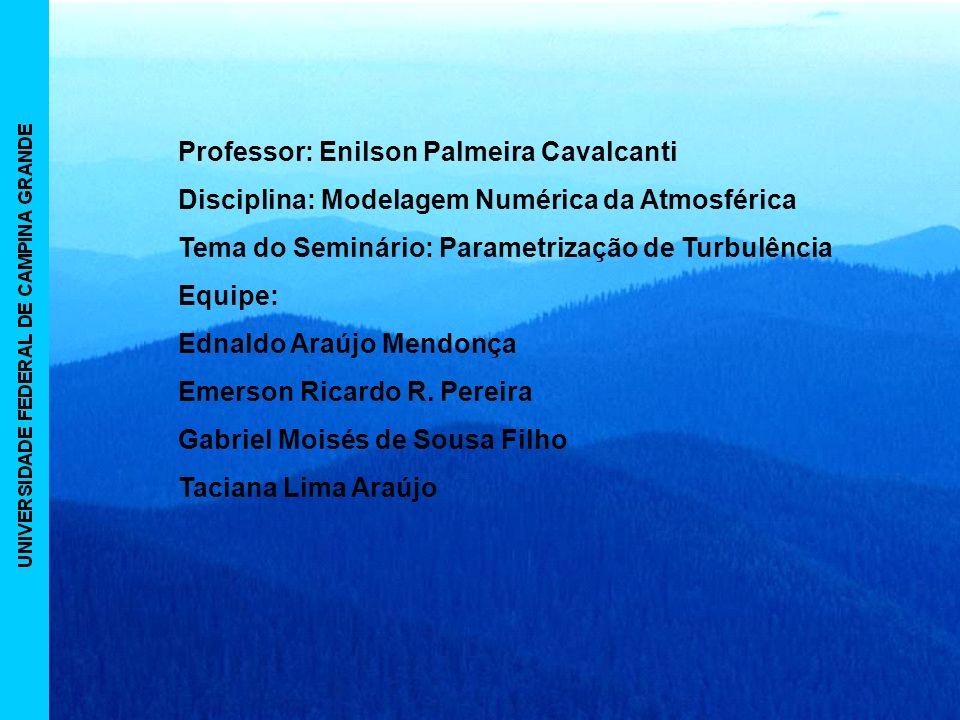 Professor: Enilson Palmeira Cavalcanti