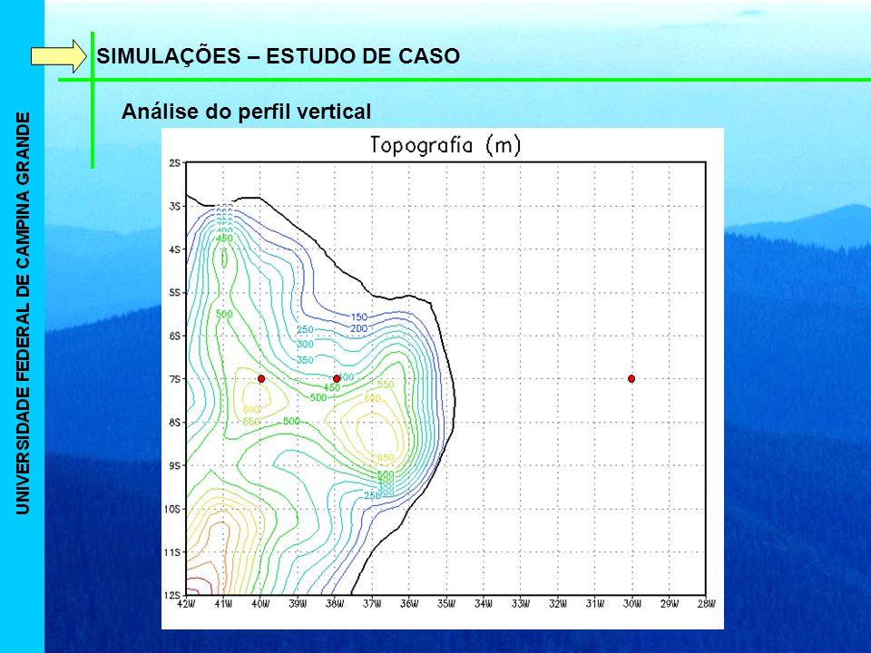 SIMULAÇÕES – ESTUDO DE CASO