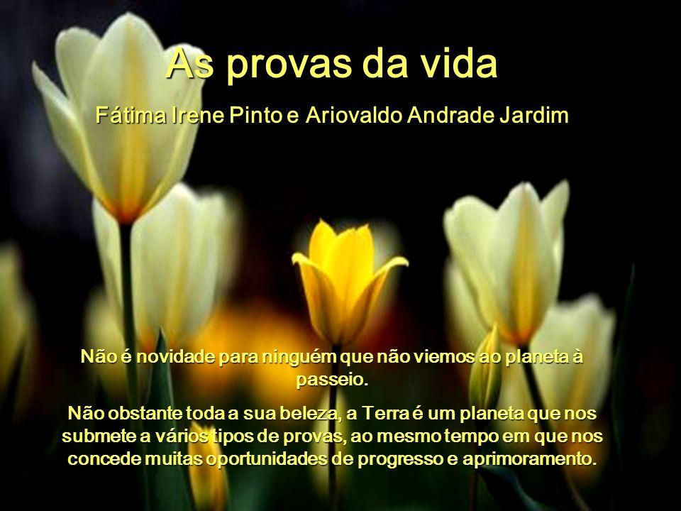 As provas da vida Fátima Irene Pinto e Ariovaldo Andrade Jardim