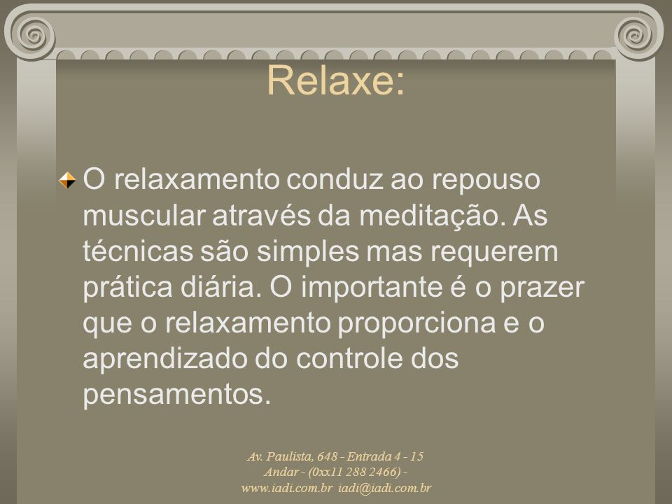 Relaxe:
