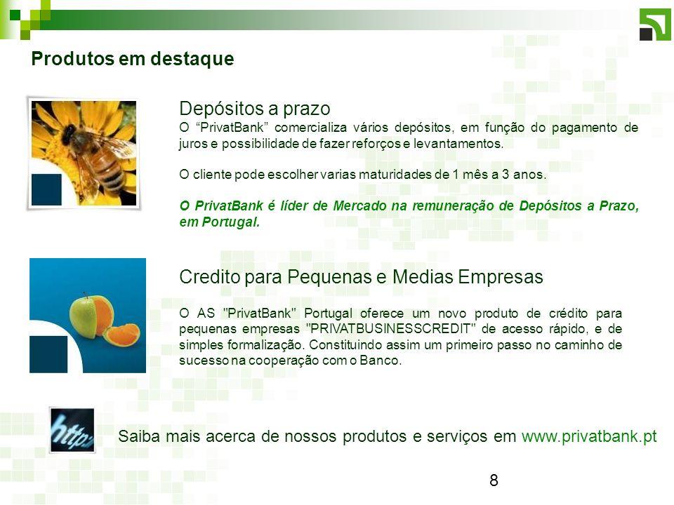 Credito para Pequenas e Medias Empresas