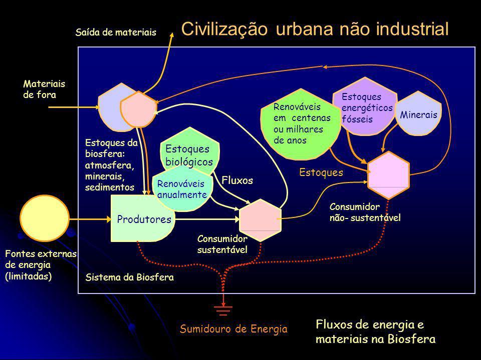 Civilização urbana não industrial
