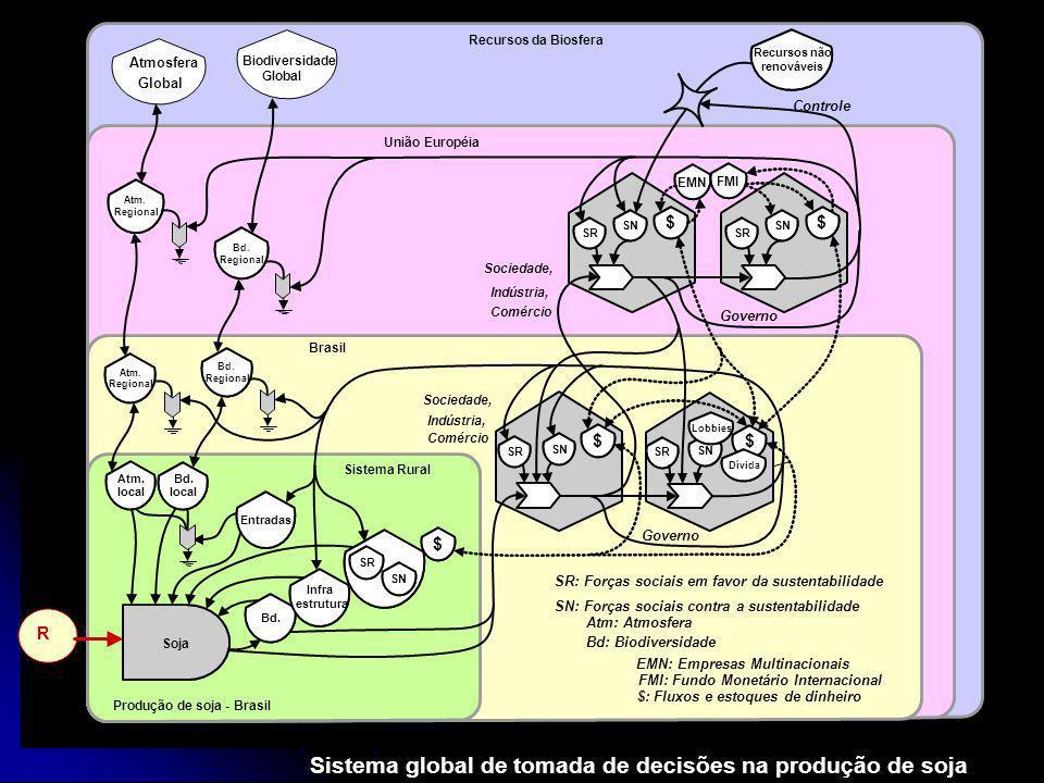 Sistema global de tomada de decisões na produção de soja