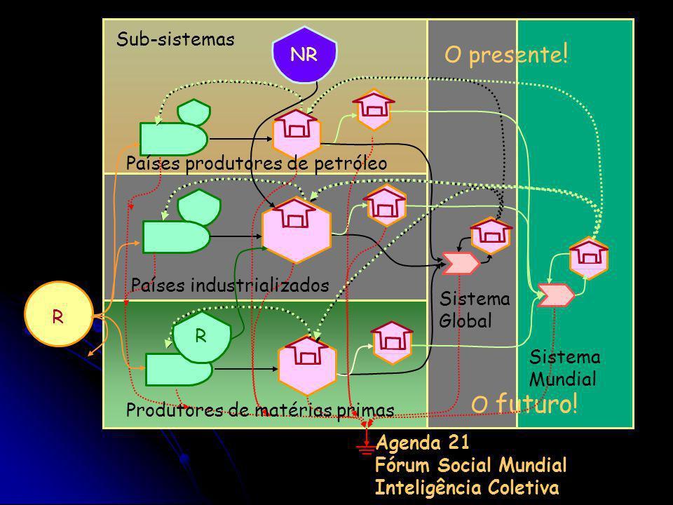O presente! O futuro! Sub-sistemas NR Países produtores de petróleo