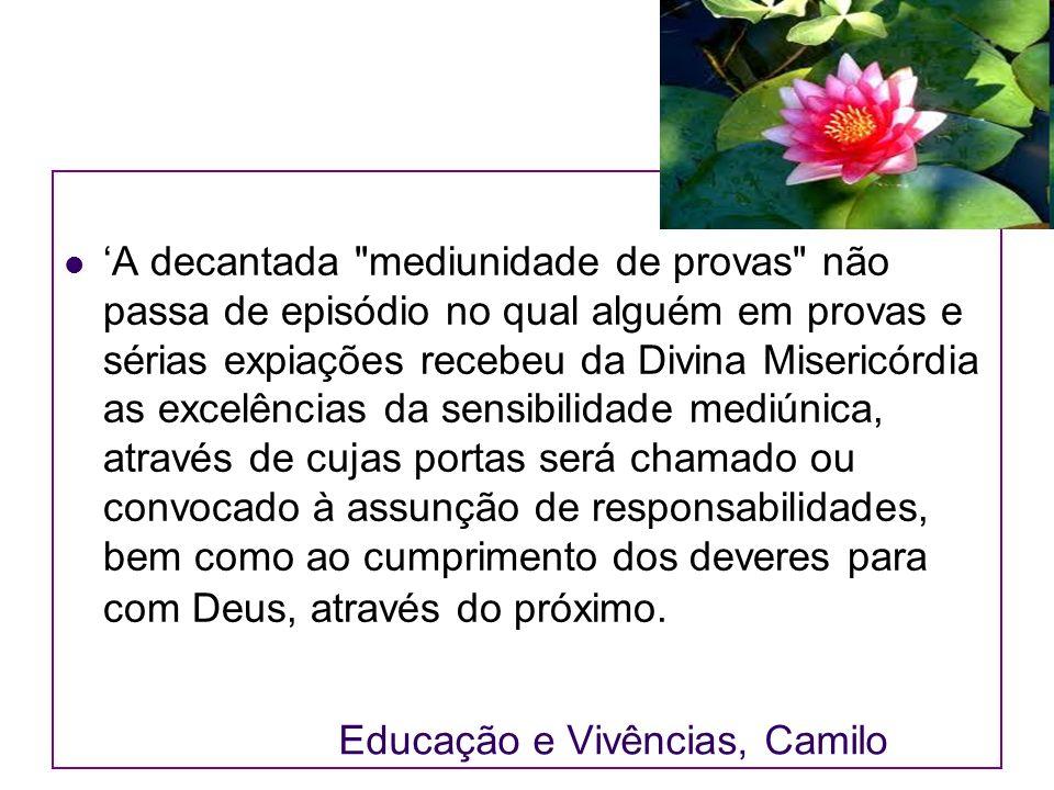 Educação e Vivências, Camilo