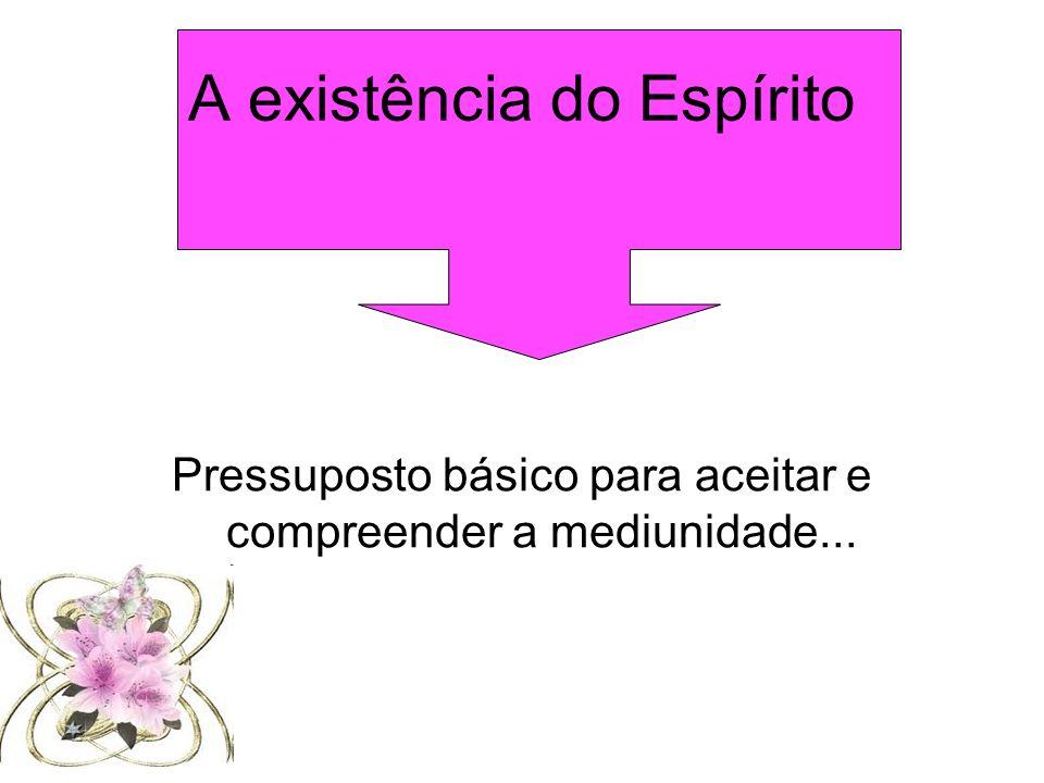A existência do Espírito