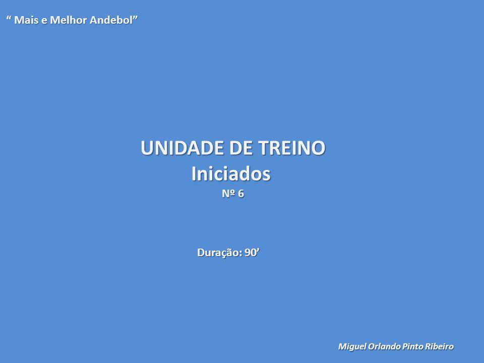 UNIDADE DE TREINO Iniciados