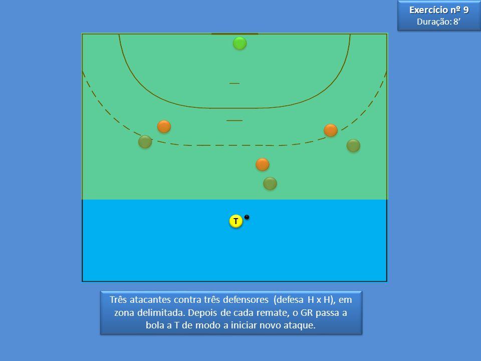 Exercício nº 9 Duração: 8' T.