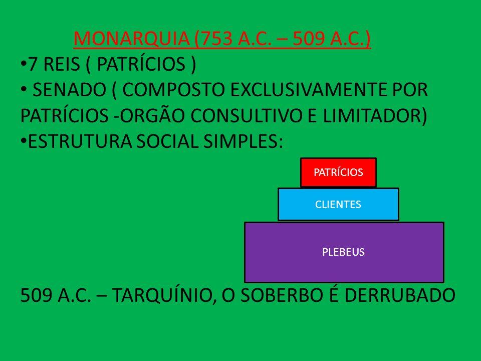ESTRUTURA SOCIAL SIMPLES: