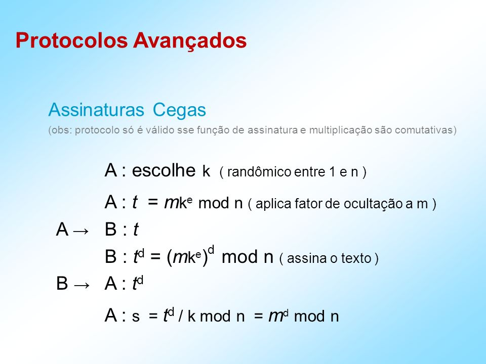A : escolhe k ( randômico entre 1 e n )
