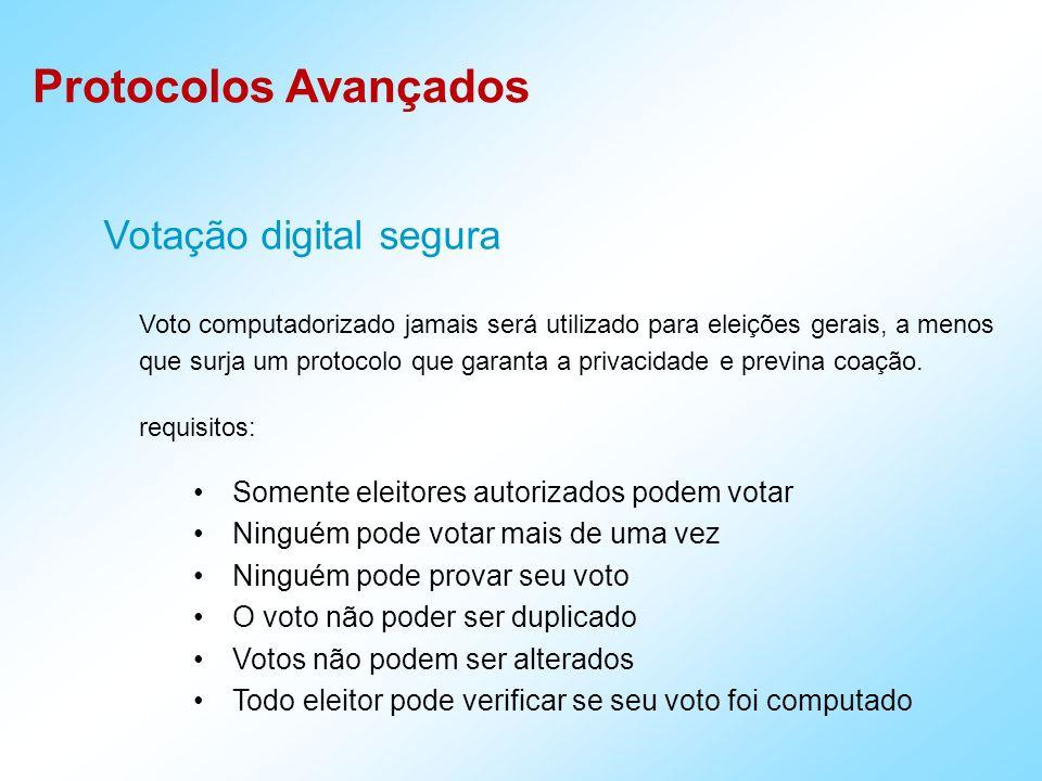 Votação digital segura