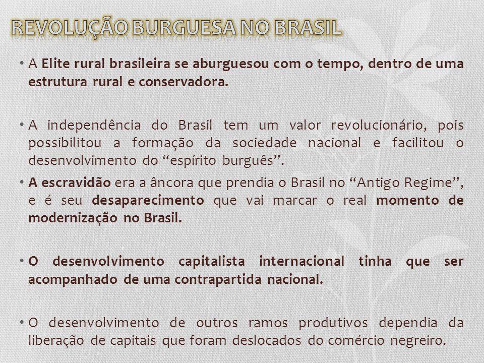 REVOLUÇÃO BURGUESA NO BRASIL