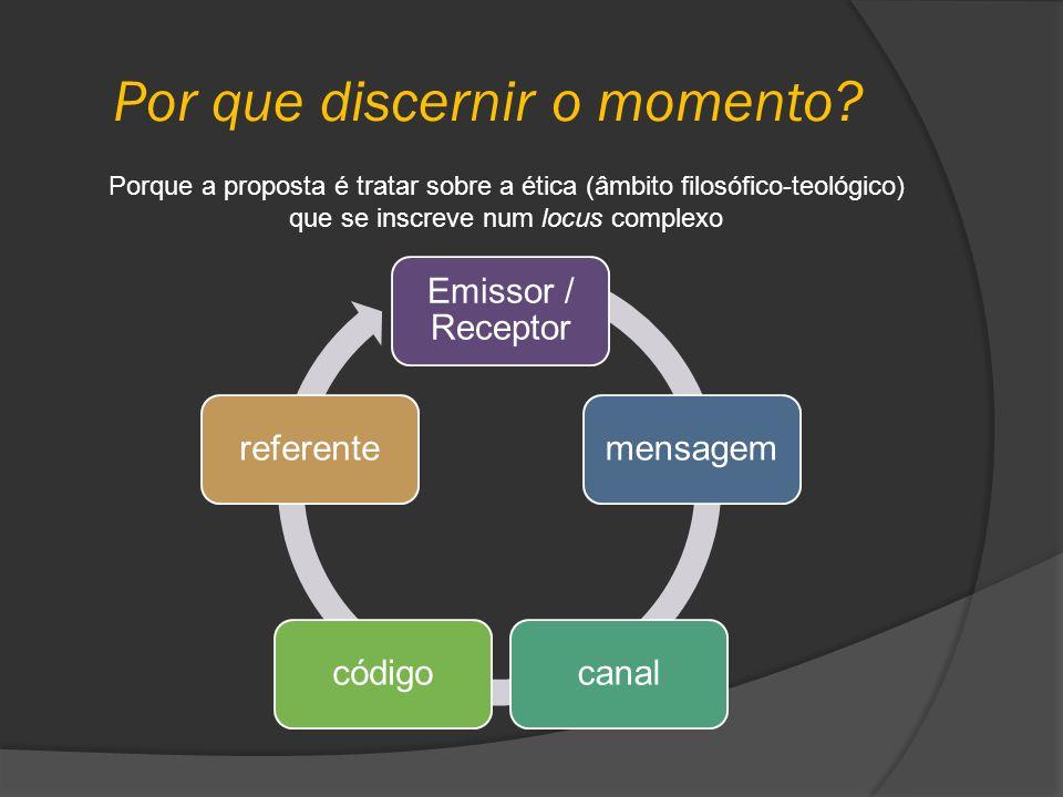 Por que discernir o momento