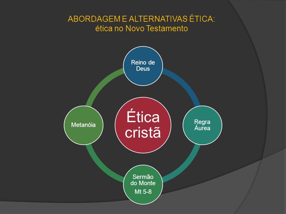 ABORDAGEM E ALTERNATIVAS ÉTICA: ética no Novo Testamento