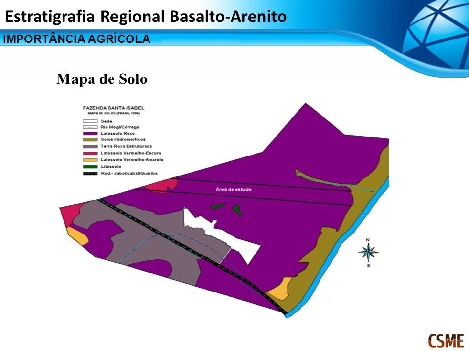 Estratigrafia Regional Basalto-Arenito