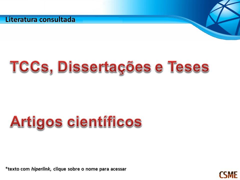 TCCs, Dissertações e Teses