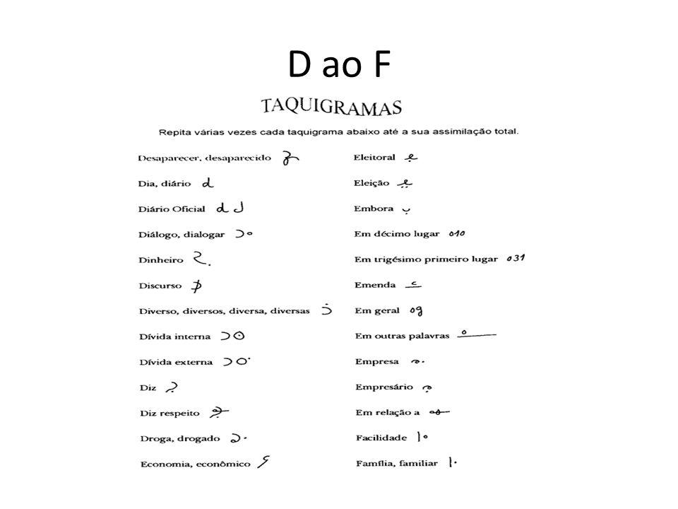 D ao F