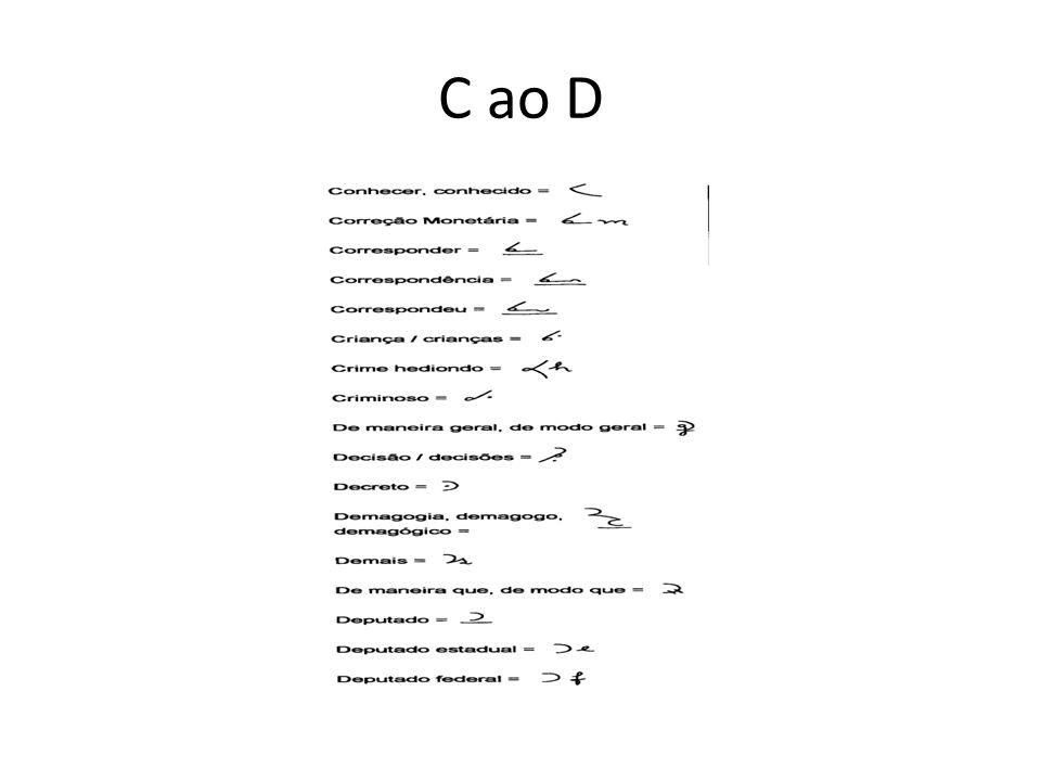 C ao D