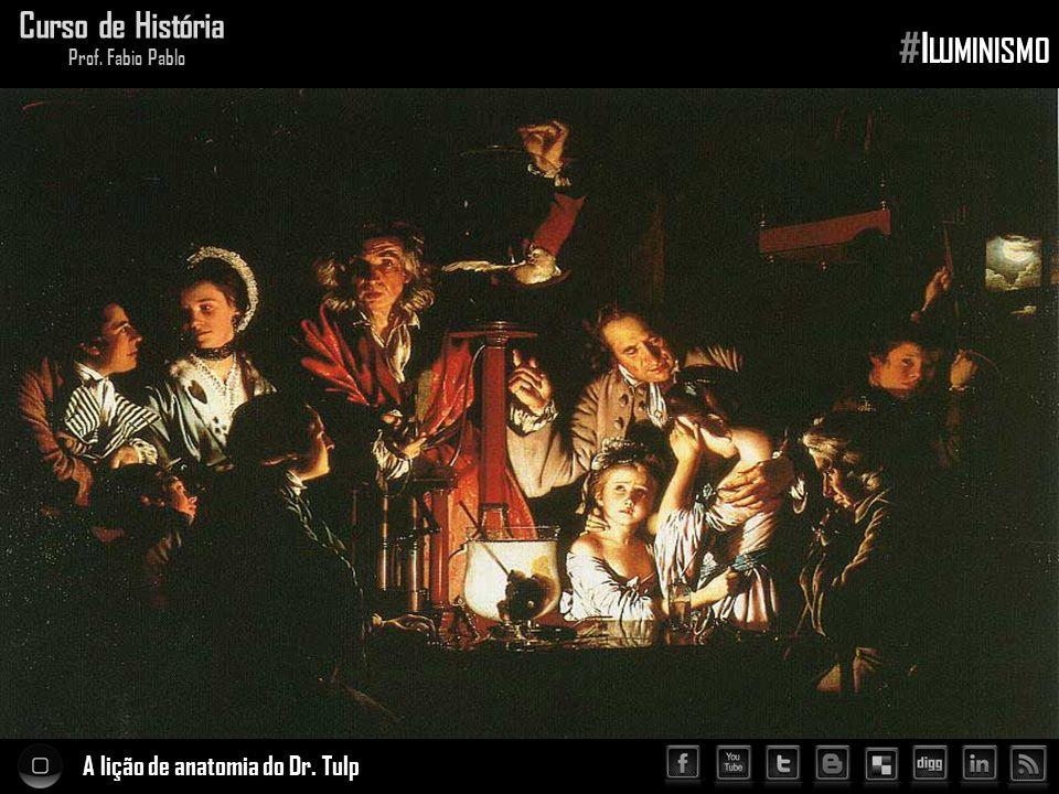 #Iluminismo Curso de História A lição de anatomia do Dr. Tulp