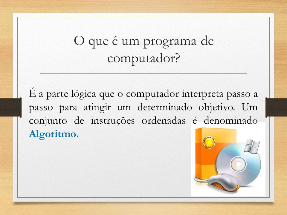 O que é um programa de computador
